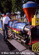 Harrisburg, PA, City Island, Island Model Train Rides