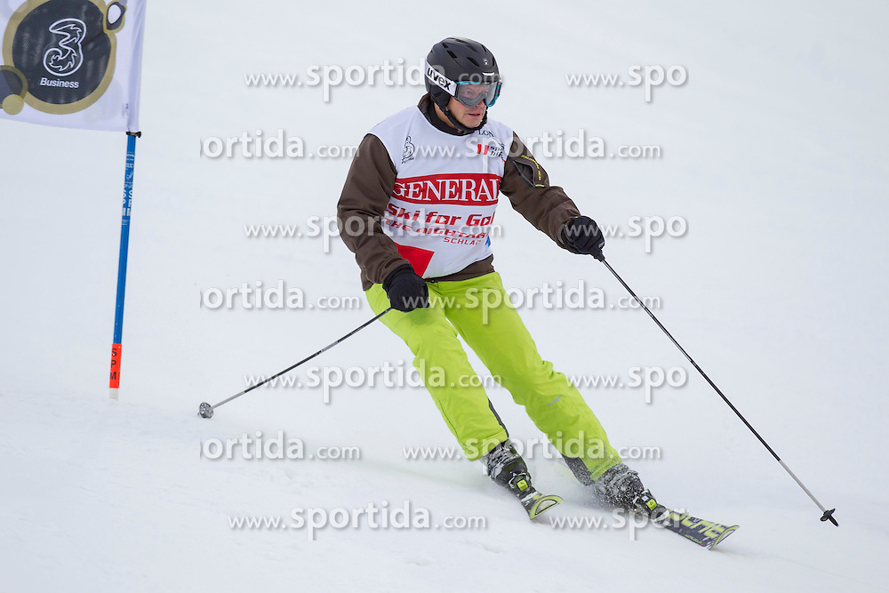 26.01.2015, Planai, Schladming, AUT, FIS Skiweltcup Alpin, Schladming, Sporthilfe Charity Promi Race, im Bild Otto Konrad // Otto Konrad during the Sporthilfe Charity VIP race at the Planai Course in Schladming, Austria on 2015/01/26, EXPA Pictures © 2015, PhotoCredit: EXPA/ Erwin Scheriau