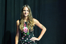 SINGAPORE, Oct. 20, 2017  Karolina Pliskova of Czech Republic poses for a photo during the WTA Finals official draw ceremony held in Singapore on Oct. 20, 2017. (Credit Image: © Then Chih Wey/Xinhua via ZUMA Wire)