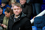 Peterborough United manager Grant McCann before the EFL Sky Bet League 1 match between Peterborough United and Southend United at London Road, Peterborough, England on 3 February 2018. Picture by Nigel Cole.