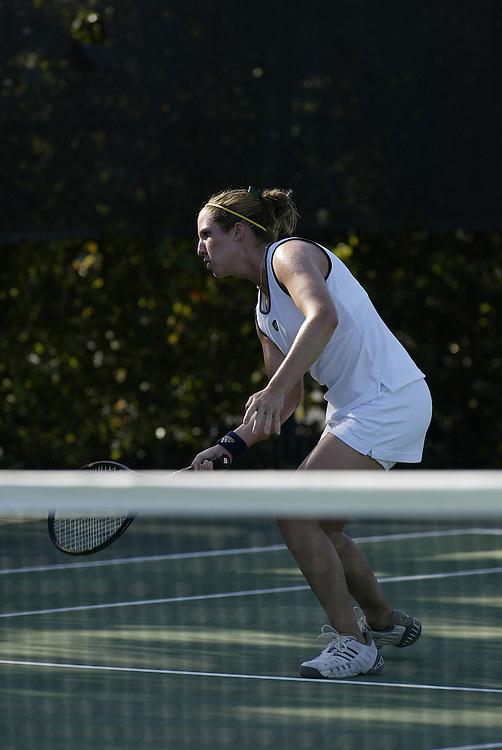 2002 Notre Dame Women's Tennis