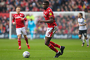 Sammy Ameobi of Nottingham Forest during the EFL Sky Bet Championship match between Nottingham Forest and Derby County at the City Ground, Nottingham, England on 9 November 2019.