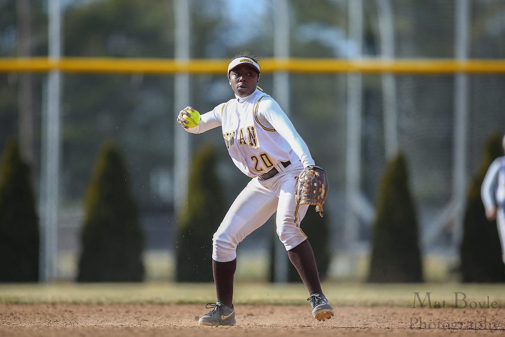 Rowan University Softball Freshman Infielder/Outfielder Shilah Snead (20) - Ursinus College Softball vs Rowan University at Rowan University's Softball Field in Glassboro, NJ on Wednesday March 27, 2013. (photo / Mat Boyle)