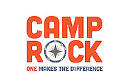 Branding and design work for the 2012 Camp Rock logo campaign. Client: Forest Hill Church (Charlotte, NC).
