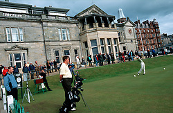 UK SCOTLAND ST ANDREWS 1-2JUN04 -  Golfers play on the Old Course during the qualifying round of the Amateur Championship 2004. The Royal and Ancient Golf Club of St. Andrews, Fife, Scotland is celebrating its 250th anniversary this year and is the governing authority for the rules of the game in more than 100 affiliated nations and is responsible for the Open Championship and key amateur and international events. The R & A is also dedicated to the development of golf world-wide and is a leader in environmental and ecological research.......jre/Photo by Jiri Rezac....© Jiri Rezac 2004....Contact: +44 (0) 7050 110 417..Mobile:  +44 (0) 7801 337 683..Office:  +44 (0) 20 8968 9635....Email:   jiri@jirirezac.com..Web:     www.jirirezac.com....© All images Jiri Rezac 2004 - All rights reserved...