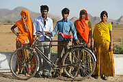 Family of farmers - Rajasthan, India