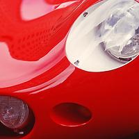 Classic Ferrari Vintage Racing Cars at Louis Vuitton Classic in Rockefeller Center Midtown Manhattan New York City