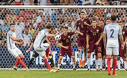 11-06-2016 FRA: UEFA EURO Engeland - Rusland, Marseille<br /> Engeland speelt gelijk tegen Rusland 1-1 / Goal for England by Freekick of Eric Dier (ENG)<br /> <br /> ***NETHERLANDS ONLY***