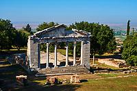 Albanie, province de Fier, Apollonia, ancienne ville grecque // Albania, Fier province, Appollonia, ancient greek town