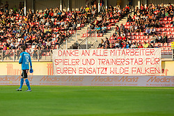 25.05.2016, Franz Fekete Stadion, Kapfenberg, AUT, 2. FBL, KSV 1919 vs SV Austria Salzburg, 36. Runde, im Bild Fans // during the Austrian Erste Liga Match, 36th Round, between KSV 1919 and SV Austria Salzburg at the Franz Fekete Stadium, Kapfenberg, Austria on 2016/05/25, EXPA Pictures © 2016, PhotoCredit: EXPA/ Dominik Angerer