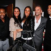 NLD/Huizen/20111223-  Lancering LAF Femme, Regi Blinker, Danielle en Maybritt Slof, Eric Kuster en Soufian Asafiati
