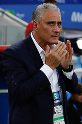 June 27, 2018 - Moscou, Rússia - MOSCOU, MO - 27.06.2018: SERBIA VS BRAZIL - The Brazilian technician, Tite during a match between Serbia and Brazil valid for the third round of group E of the 2018 World Cup, held at the Otkrytie Arena in Moscow, Russia. (Credit Image: © Marcelo Machado De Melo/Fotoarena via ZUMA Press)