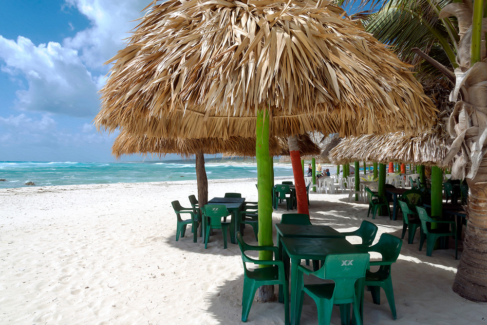 A quick beach stop on Cozumel Mexico