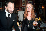TOM FORD; STELLA MCCARTNEY, Graydon Carter hosts a diner for Tom Ford to celebrate the London premiere of ' A Single Man' Harry's Bar. South Audley St. London. 1 February 2010