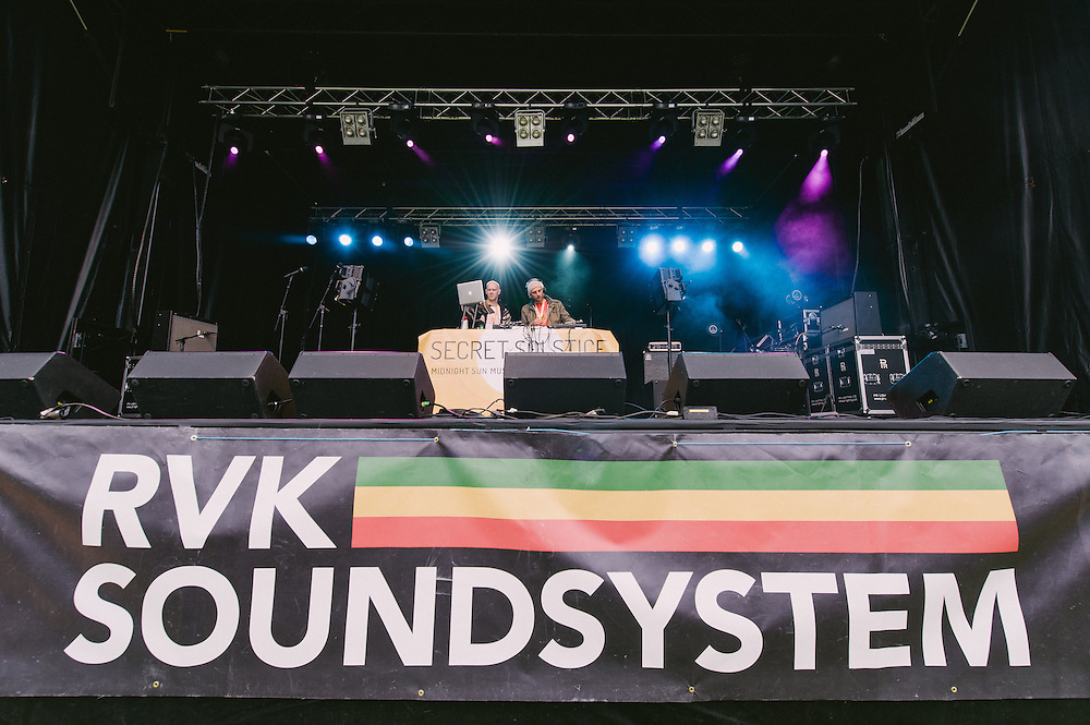 Photos of RVK Soundsystem performing live at Secret Solstice Music Festival 2014 in Reykjavík, Iceland. June 21, 2014. Copyright © 2014 Matthew Eisman. All Rights Reserved