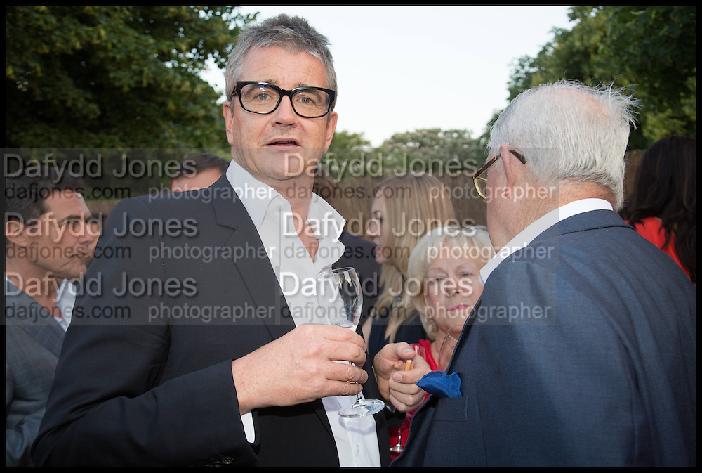 JAY JOPLING, 2014 Serpentine's summer party sponsored by Brioni.with a pavilion designed this year by Chilean architect Smiljan Radic  Kensington Gdns. London. 1July 2014