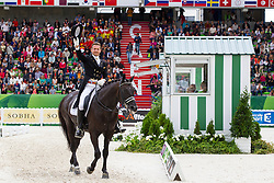 Edward Gal, (NED), Glock's Voice - Grand Prix Special Dressage - Alltech FEI World Equestrian Games™ 2014 - Normandy, France.<br /> © Hippo Foto Team - Leanjo de Koster<br /> 25/06/14