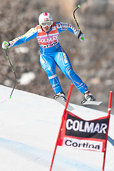 23.01.2011, Tofana, Cortina d Ampezzo, ITA, FIS World Cup Ski Alpin, Lady, Cortina, SuperG, im Bild Anja Paerson (SWE, #21) // Anja Paerson (SWE) during FIS Ski Worldcup ladies SuperG at pista Tofana in Cortina d Ampezzo, Italy on 23/1/2011. EXPA Pictures © 2011, PhotoCredit: EXPA/ J. Groder