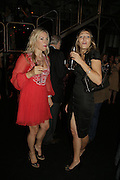 HAYLEY DAWES AND NATASHA DEBORKY, Westfield launch at the BFC tent prior toLondon Fashion week. 17 September 2006. ONE TIME USE ONLY - DO NOT ARCHIVE  © Copyright Photograph by Dafydd Jones 66 Stockwell Park Rd. London SW9 0DA Tel 020 7733 0108 www.dafjones.com
