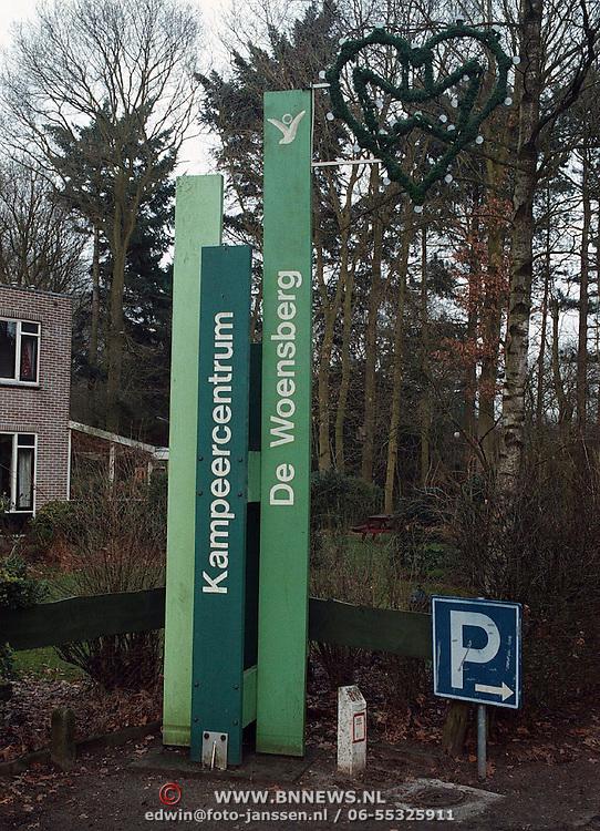 Ingang camping de Woensberg Huizen , asiezoekers verblijfplaats