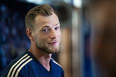 The Swedish team training & press conference - 3 Sep 2018