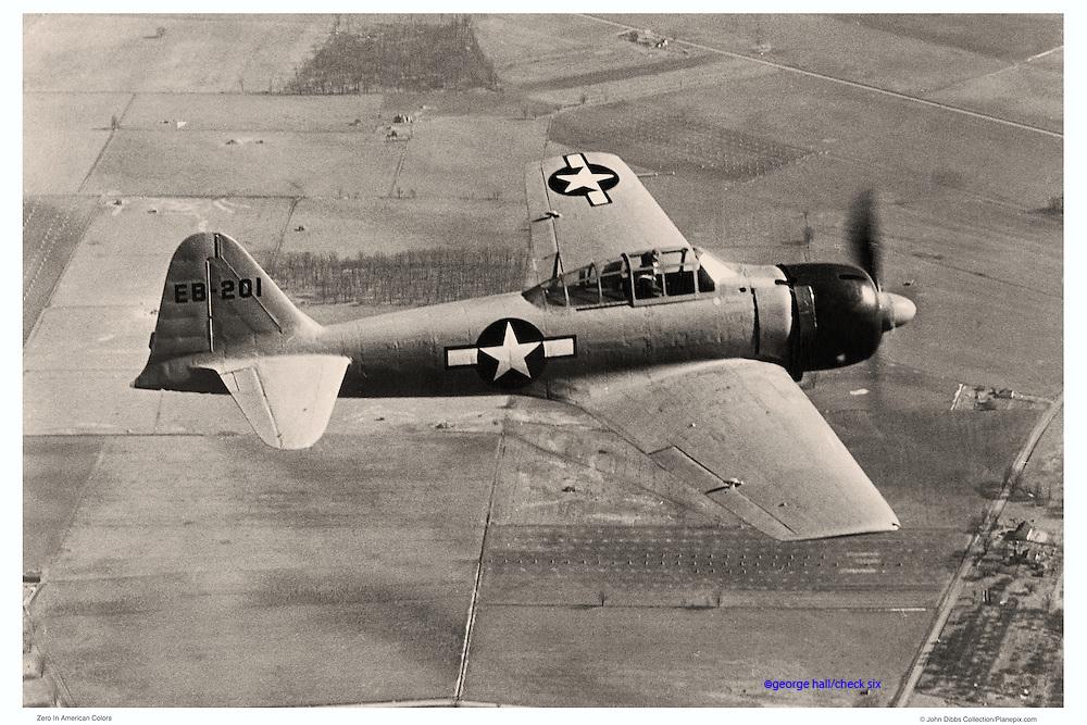 American Zero, WWII aerial