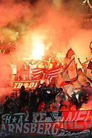 """Tifosi BAYERN Bayern fans<br /> Napoli 18/10/2011 Stadio """"San Paolo""""<br /> Football Calcio Champions League 2011/2012 <br /> Napoli Vs Bayern Munchen Monaco<br /> Foto Insidefoto Andrea Staccioli"""