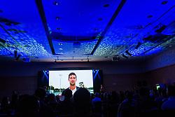 Novak Djokovic at Sports Awards & Brands ceremony during Sports marketing and sponsorship conference Sporto 2018, on November 22, 2017 in Hotel Slovenija, Congress centre, Portoroz / Portorose, Slovenia. Photo by Vid Ponikvar / Sportida