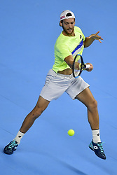 October 20, 2017 - Anvers, Belgique - ANTWERP, BELGIUM - OCTOBER 20 :  Joao Sousa (Credit Image: © Panoramic via ZUMA Press)