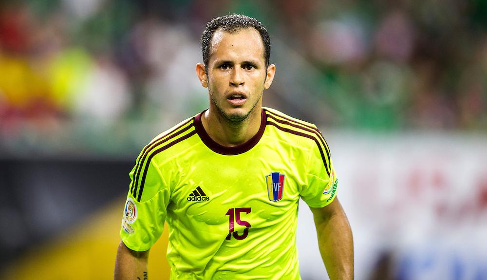 Alejandro Guerra during a Copa America Centenario match-up against Mexico in Houston, Texas.