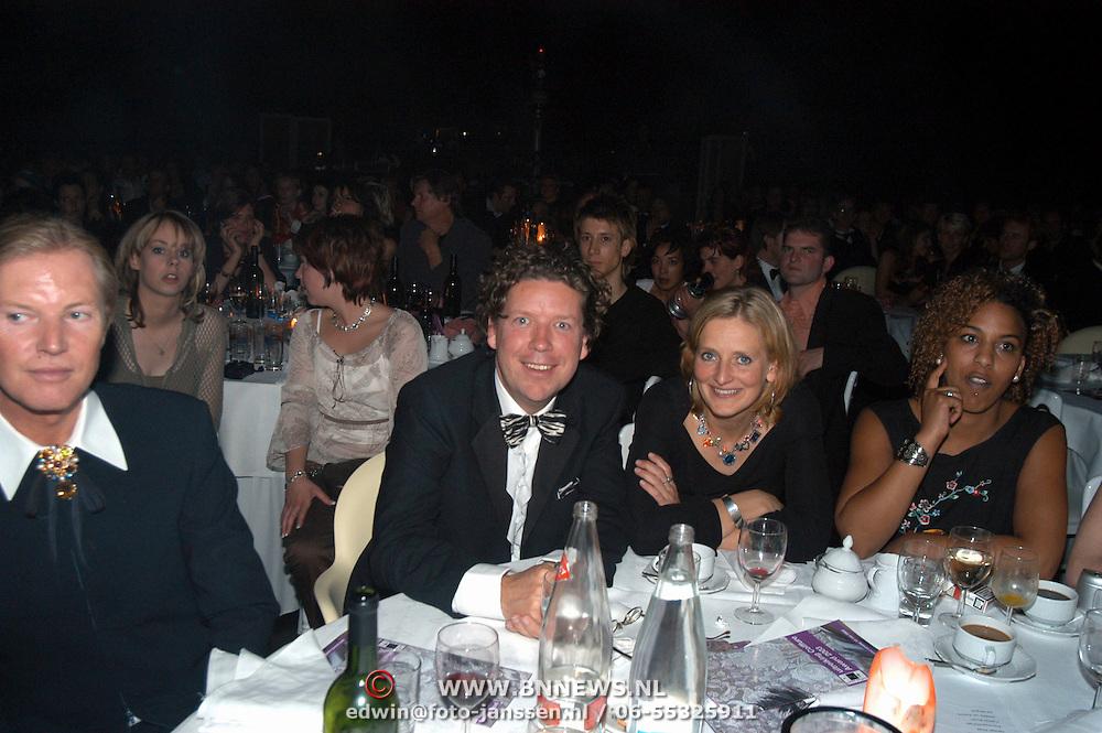 Coiffure Awards 2003, Henk Jan Smits en vrouw Petra