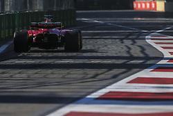 June 24, 2017 - Baku, Azerbaijan - Motorsports: FIA Formula One World Championship 2017, Grand Prix of Europe, .#5 Sebastian Vettel (GER, Scuderia Ferrari), #7 Kimi Raikkonen (FIN, Scuderia Ferrari) (Credit Image: © Hoch Zwei via ZUMA Wire)