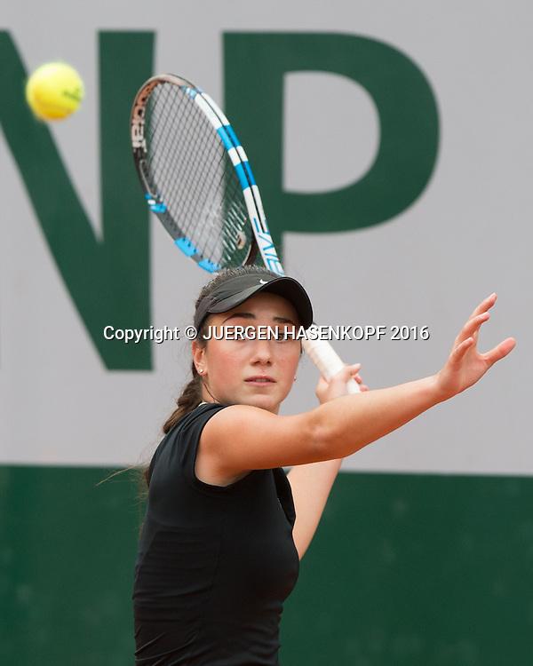 Amina Anshba (RUS) Junior Girls<br /> <br /> Tennis - French Open 2016 - Grand Slam ITF / ATP / WTA -  Roland Garros - Paris -  - France  - 1 June 2016.