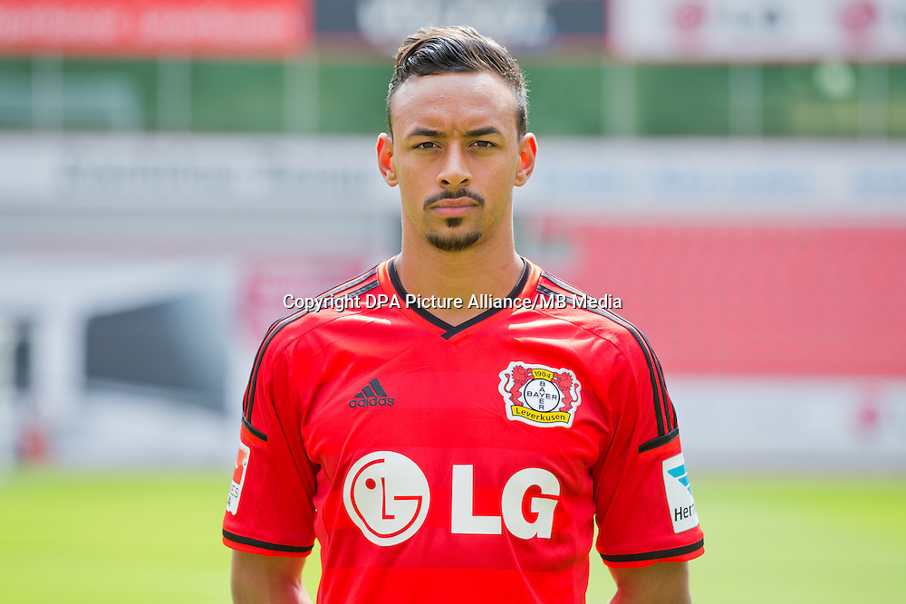 German Soccer Bundesliga - Photocall Bayer 04 Leverkusen on August 4th 2014: Karim Bellarabi.