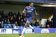 Southend United striker Nile Ranger (50) chasing the ball during the EFL Sky Bet League 1 match between Southend United and Bradford City at Roots Hall, Southend, England on 19 November 2016. Photo by Matthew Redman.