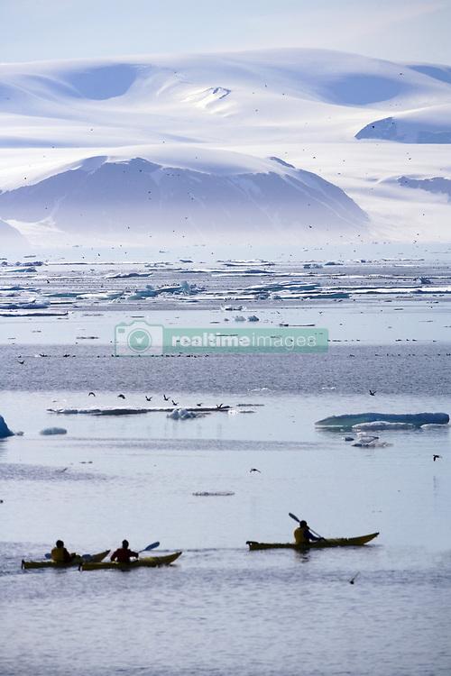 July 21, 2019 - Kayaking, Nunavut, Canada (Credit Image: © Richard Wear/Design Pics via ZUMA Wire)