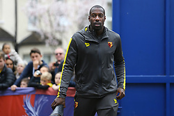 Adrian Mariappa of Watford arrives at Selhurst Park Stefano Okaka Chuka of Watford arrives at Selhurst Park - Mandatory by-line: Jason Brown/JMP - 18/03/2017 - FOOTBALL - Selhurst Park - London, England - Crystal Palace v Watford - Premier League