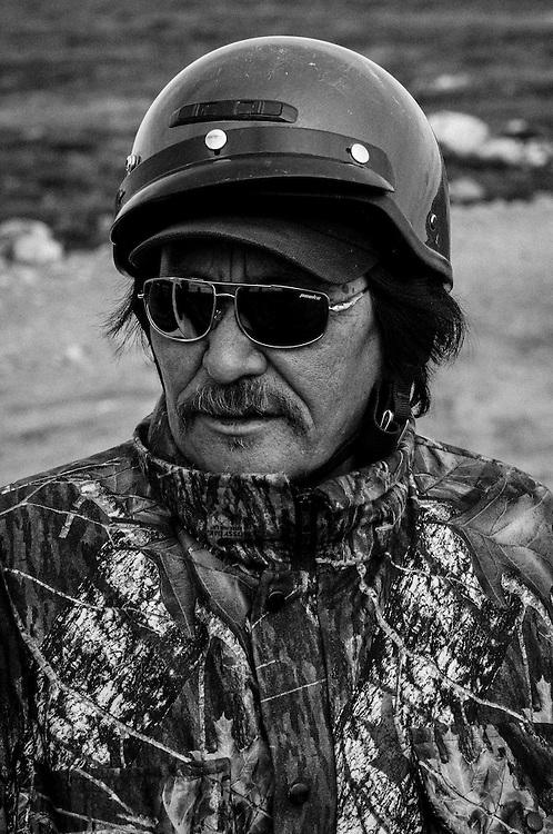 CANADA, Nunavut<br /> Inuit tracker