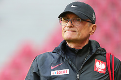 August 31, 2017 - Copenhagen, Denmark - Poland's head coach Adam Nawalka during training session before FIFA World Cup 2018 qualifier MD-1 between Denmark and Poland at Parken Stadium in Copenhagen, Denmark on 31 August 2017. (Credit Image: © Foto Olimpik/NurPhoto via ZUMA Press)