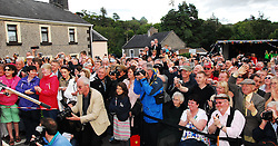The village of Cong was packed with visitorsas Maureen O'Hara performed the official opening of Quiet Man Festival...Pic Conor McKeown