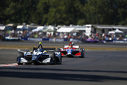 September 2, 2018 - Portland, Oregon, United Stated - MAX CHILTON (59) of England battles for position during the Portland International Raceway at Portland International Raceway in Portland, Oregon. (Credit Image: © Justin R. Noe Asp Inc/ASP via ZUMA Wire)