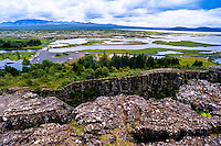 Iceland. Thingvellir is a site of historical, cultural, and geological importance.