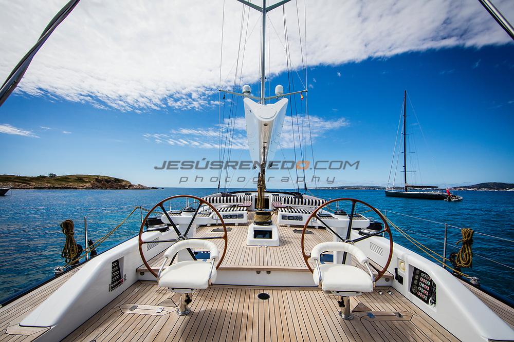 Photo Shooting for Nautor´s Swan Brokerage, Swan 100 S Aquarius Alfa , © Jesus Renedo