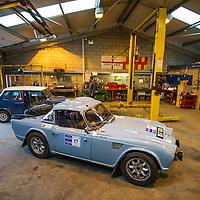 Car 17 Tony Sheach Rob Kiff Triumph TR4