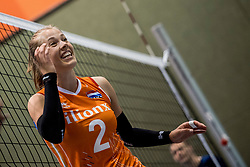 10-05-2018 NED: Training Dutch volleyball team women, Arnhem<br /> Femke Stoltenborg #2 of Netherlands