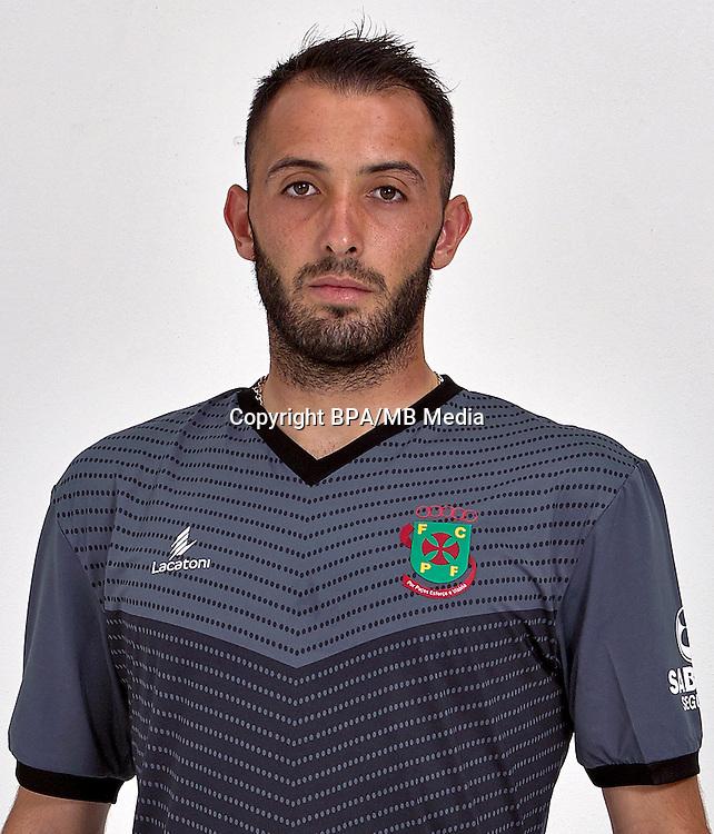 Portugal - Primera Liga NOS 2016-2017 /  <br /> ( FC Pacos de Ferreira ) - <br /> Joao Paulo Silva Pinho &quot; Joao Pinho &quot;