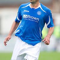 St Johnstone FC....Season 2011-12<br /> Callum Davidson<br /> Picture by Graeme Hart.<br /> Copyright Perthshire Picture Agency<br /> Tel: 01738 623350  Mobile: 07990 594431