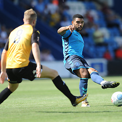 TELFORD COPYRIGHT MIKE SHERIDAN 4/8/2018 - Ellis Deeney during the National League North fixture between AFC Telford United and Southport FC.