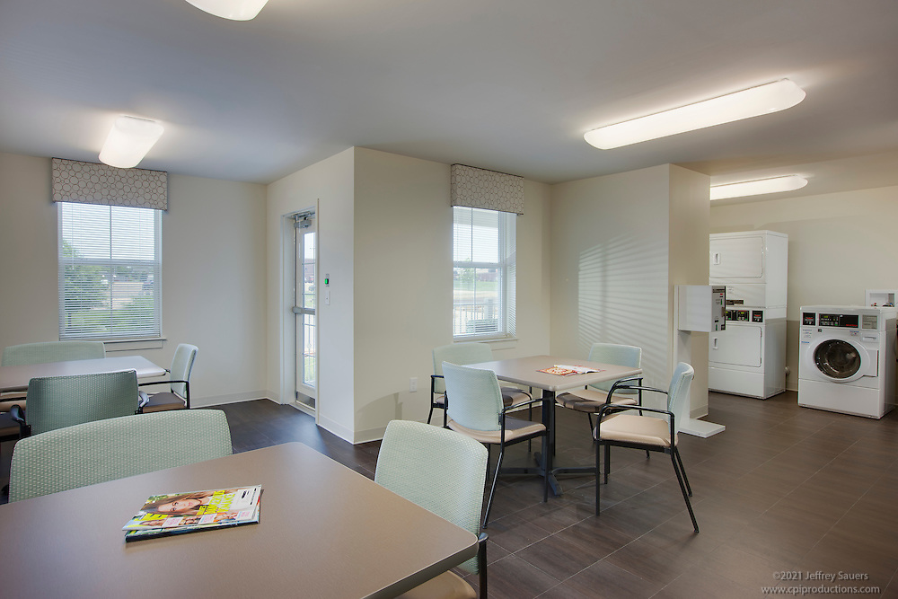 Interior image of Village Crossroads Sr. Living in Baltimore Maryland by Jeffrey Sauers of Commercial Photographics, Architectural Photo Artistry in Washington DC, Virginia to Florida and PA to New England