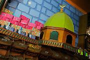 Islamic Cairo, spice market near Khan al-Khalili suq, the most important of Cairo.